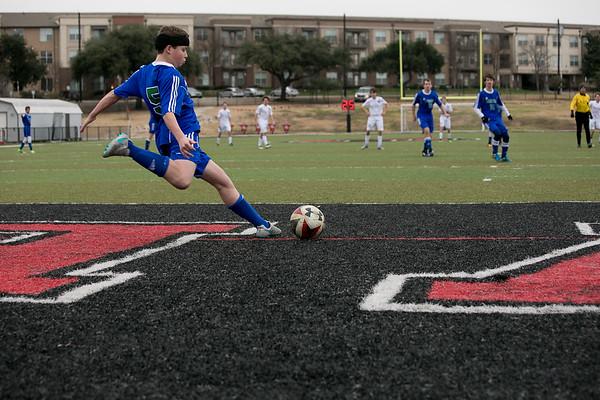 Varsity Soccer at Covenant 1.3.16