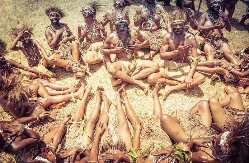 Singing Circle in Papua New Guinea