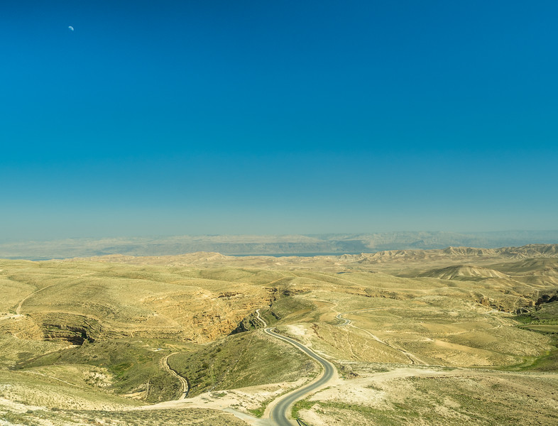 Into the Judean Wilderness, West Bank, Israel