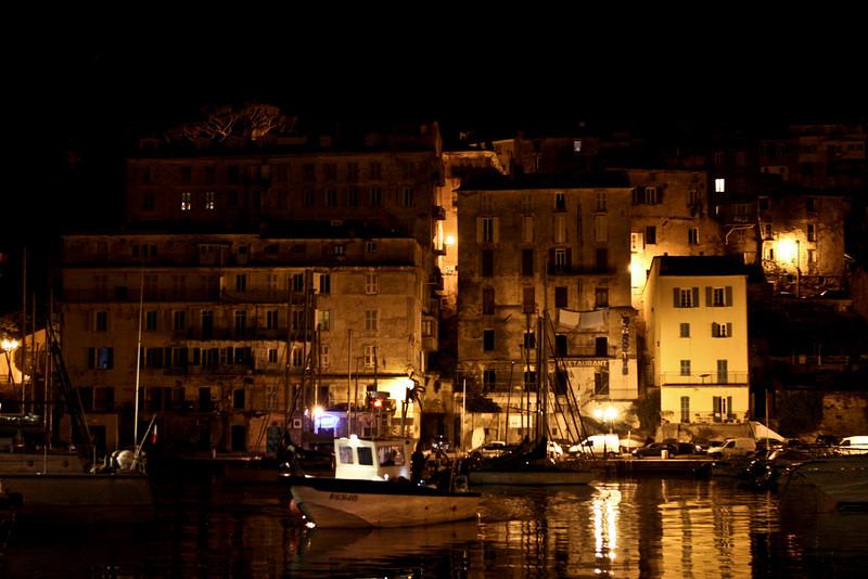 Le port de Bastia.