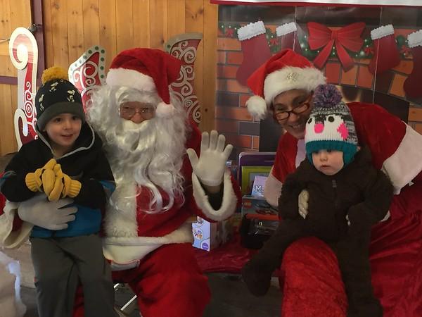 Santa at Sloper 1