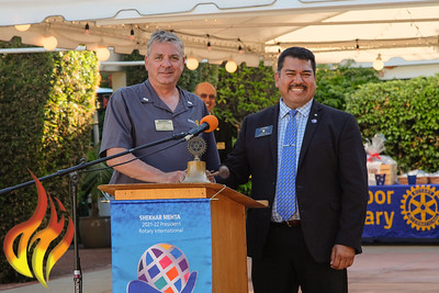 2021-2022 Mission San Rafael Rotary & Harbor Rotary Installation Dinner