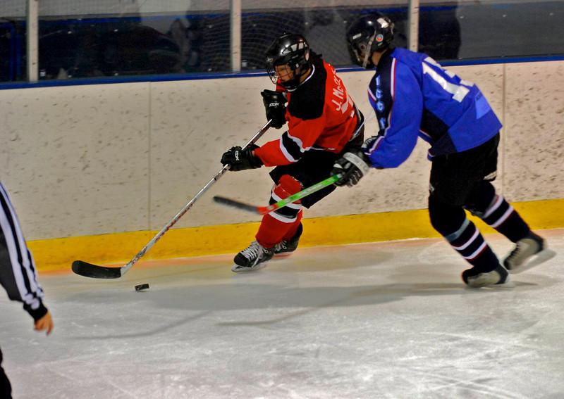 North vs. icehawks  1-14-09