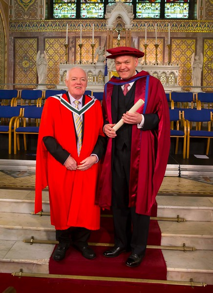 Waterford Institute Of Technology Conferring. Pictured at WIT Waterford Institute Of Technology Conferring is Phil Brennan, Waterford, who was conferred a Doctor of Philosophy. Picture: Patrick Browne