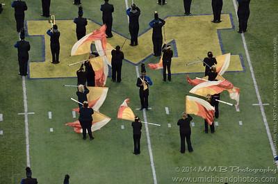 Wayne Memorial High School 'Zebra' Marching Band - Wayne Memorial High School