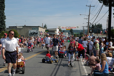 Fouth of July Parade in Carnation - 2006