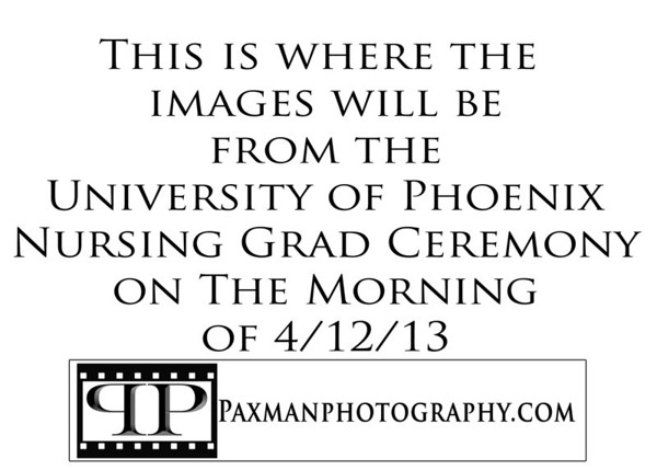 University of Phoenix Nursing Ceremony Morning