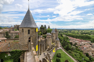 May 13 - Morning Walk and the Walled City of Carcassonne