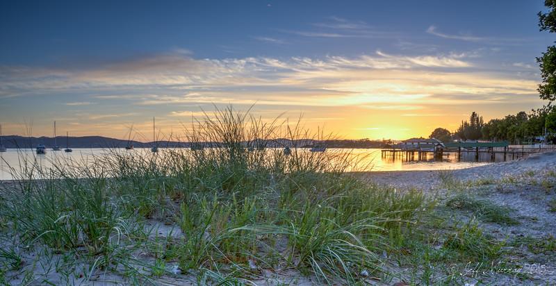 Sunrise in Sandy Bay