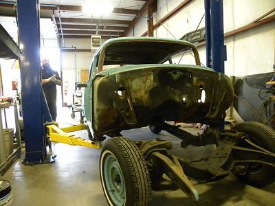 1955 210 Post Chevrolet