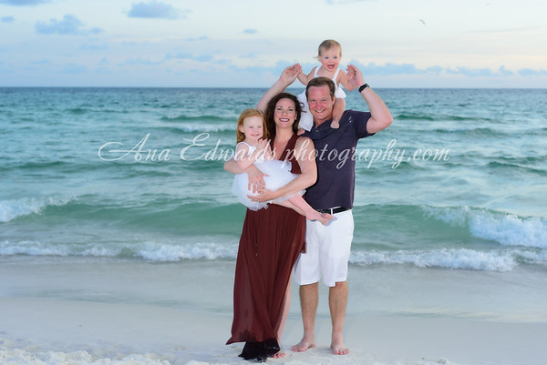 The Griffiths family  |  Panama City Beach