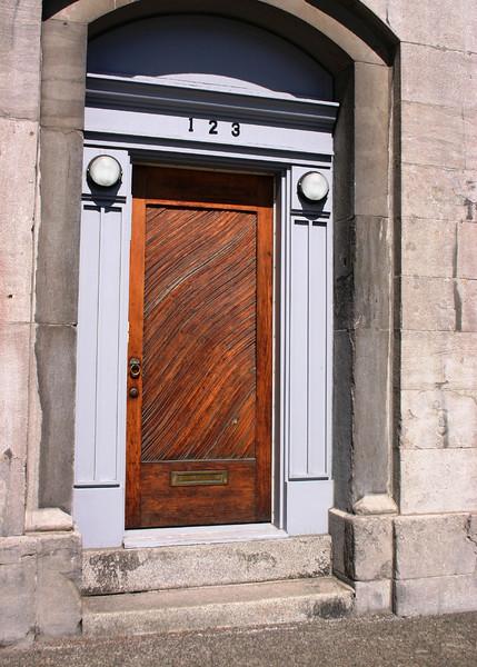 Door in Old Montreal