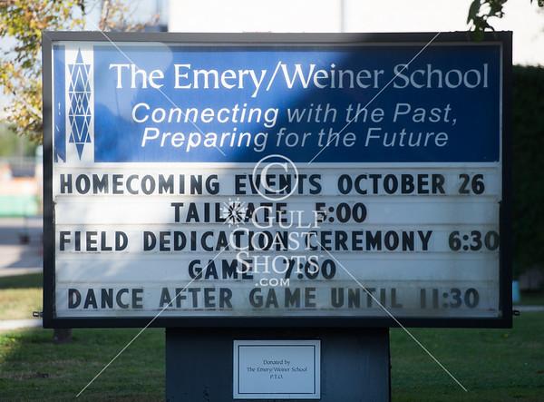 2013-11-11 Football JV Clear Lake Christian @ Emery Weiner