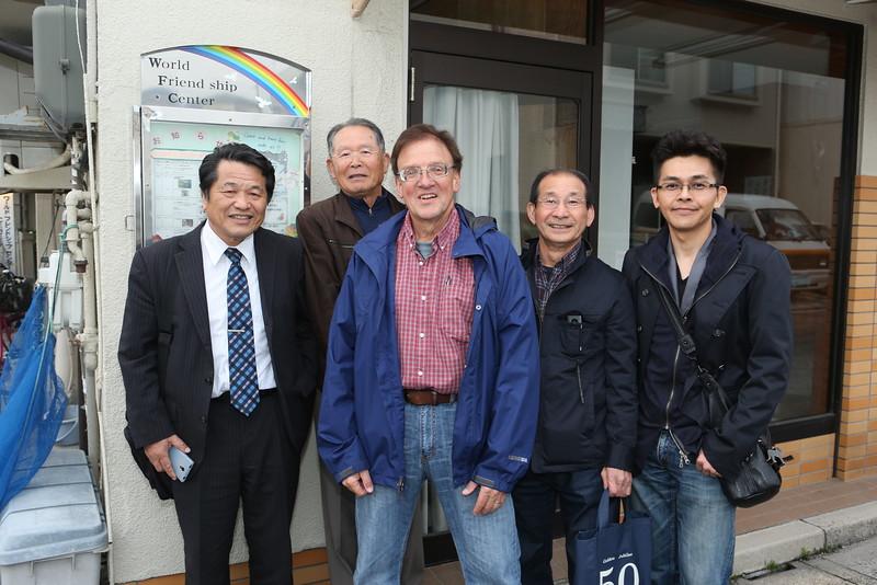 Kent's Tuesday Evening WFC Class Students: (L-R) Kuniaki Shiraogaw, Takaaki Kanda,Tamiyuki Okahara, and Tetsuyuki Sasayama,