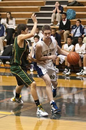 ND Basketball Freshman Canyon 2010