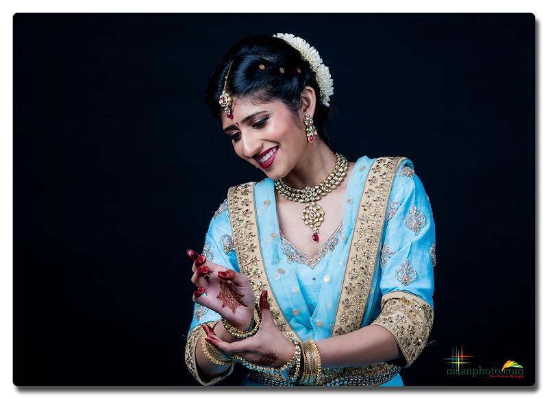 Sanjana's Kathak Pranam Portraits 2019