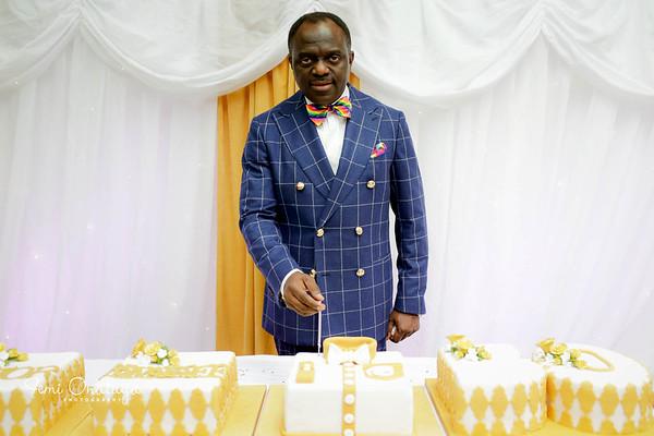 Pst Abimbola Komolafe's 50th Dinner