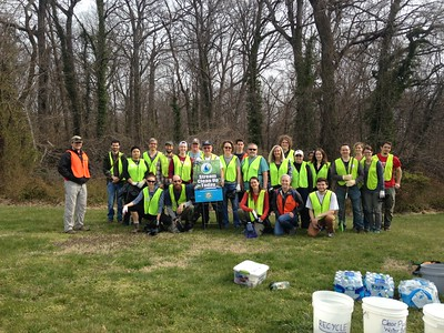 3.25.2017 Herbert Run Cleanup at Spring Grove with Spring Grove Arboretum Project