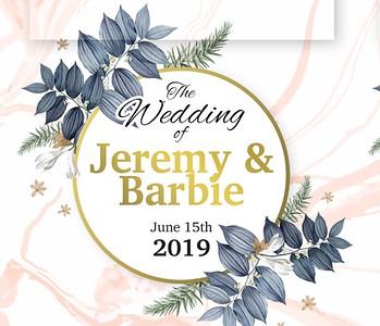 Jeremy & Barbie's Wedding!
