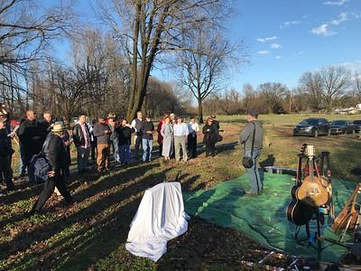 2019-03-09 Dedication of Charlie Burse's Headstone Memphis TN