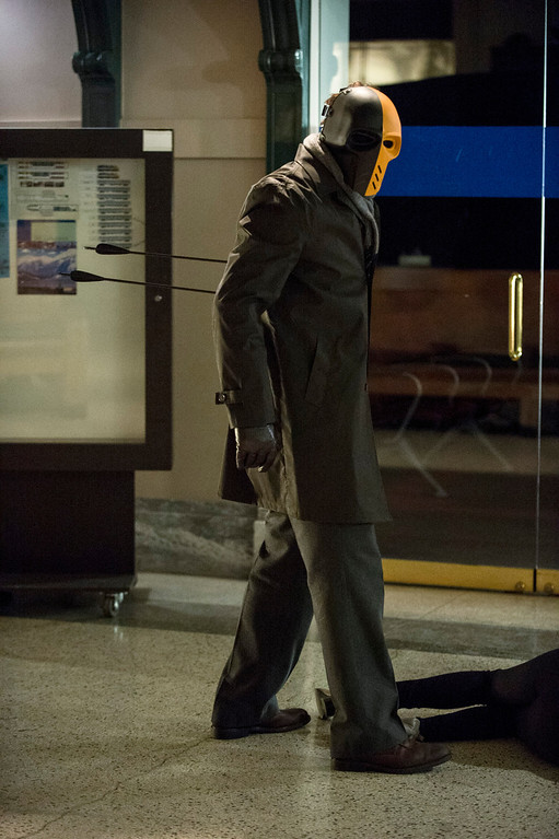 """. Mirakuru Soldier in The CW\'s \""""Arrow.\""""  (Photo by Cate Cameron/The CW -- © 2014 The CW Network, LLC. All Rights Reserved.)"""