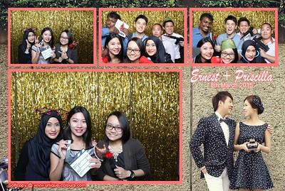 Ernest + Priscilla Photo Booth Album