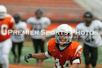 La Porte Freshman B Football vs. Clear Brook 8/28/2014