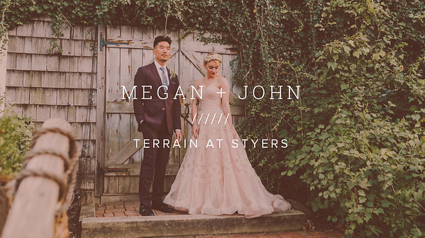 MEGAN + JOHN ////// TERRAIN AT STYERS