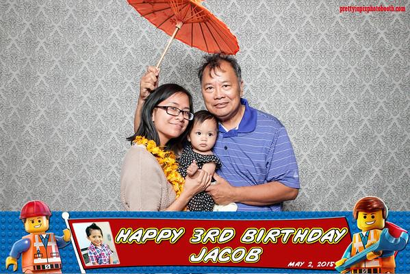 Jacob's 3rd Birthday 5-2-15