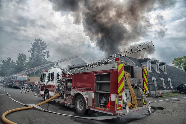 Milford Junkyard Fire