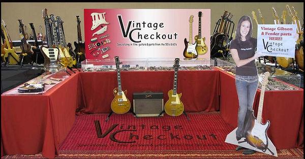 Vintage guitar Show pics