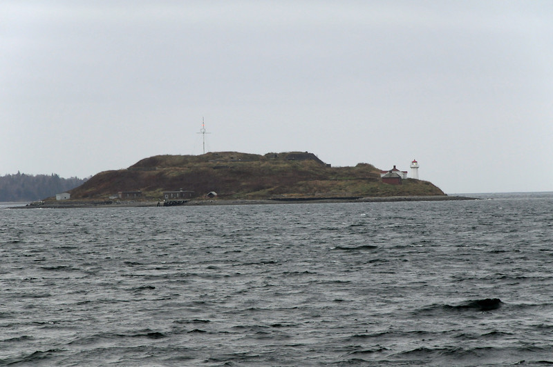 On the Ferry, view of Georges Island