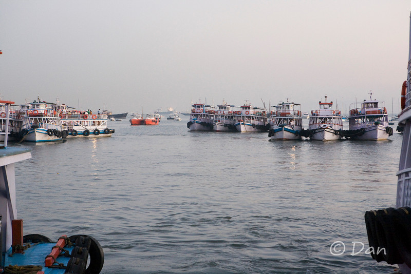 harbour of the Gateway of India