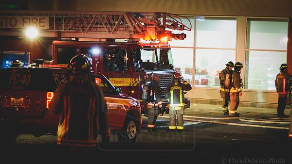 November 12, 2020 - Working Fire - 1735 Kipling Ave.