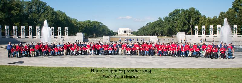 Honor Flight #4 (Sept2014)