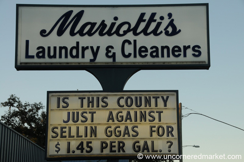 American Signs, Gas Prices - St. Augustine, Florida