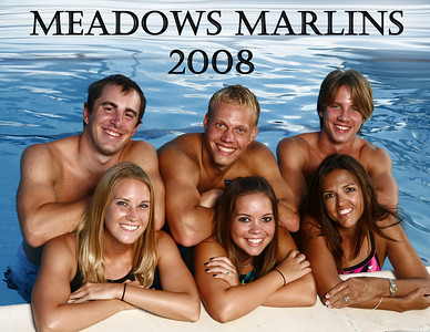 Meadows Marlins Swim Team Photo Shoot 2008
