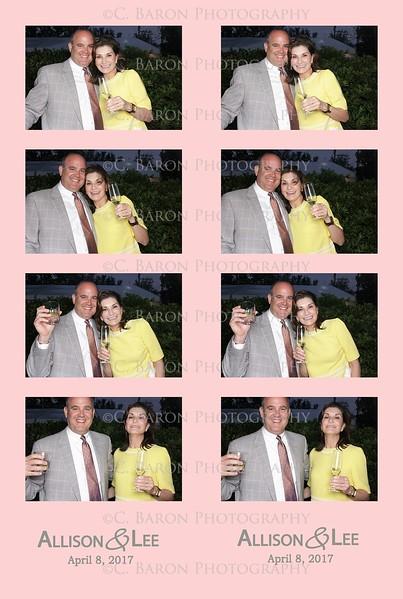 Allison + Lee = Swanky Photobooth