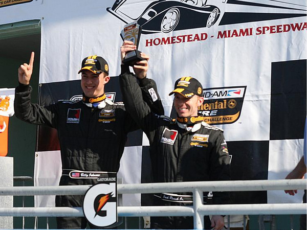 Billy Johnson and Jack Roush Jr. win miami grand prix