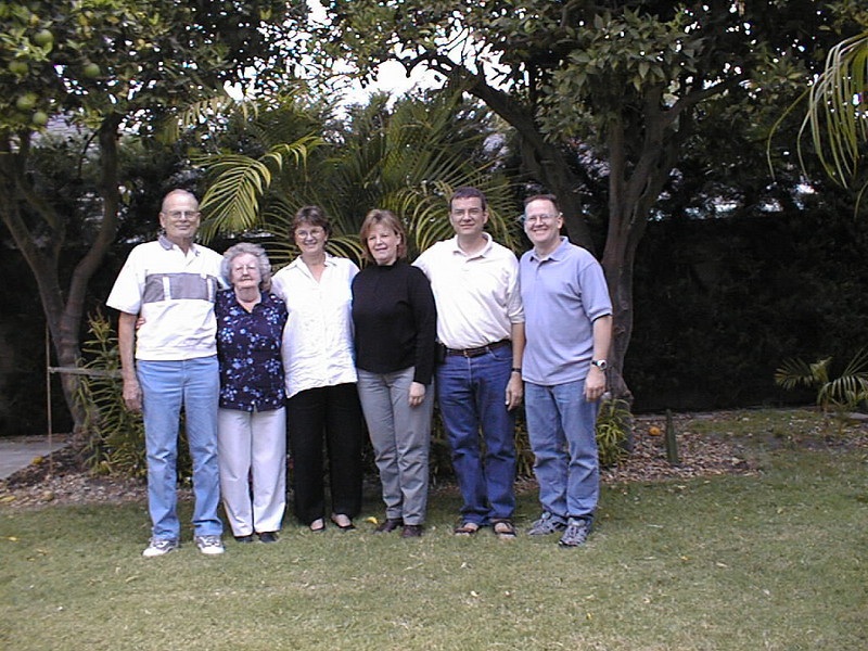 Family get together in Long Beach