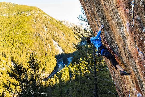 Climbing the Gallatin - MT