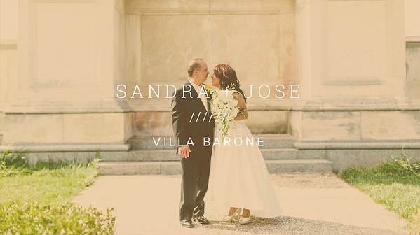 SANDRA + JOSE ////// VILLA BARONE
