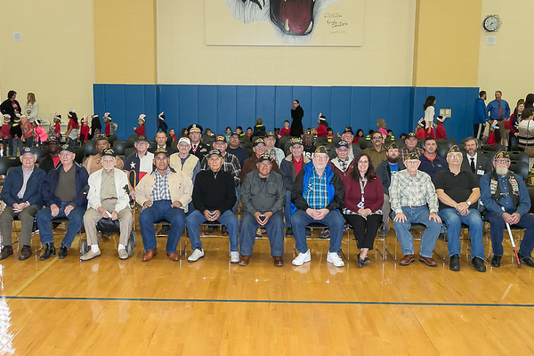 Rockdale ISD Veterans Day Ceremony 2017