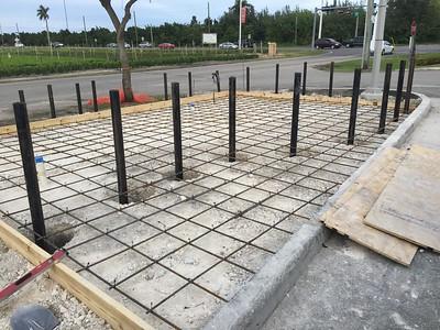 New Construction Propane Dispenser Station
