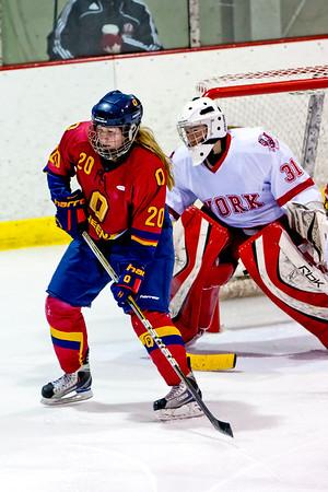 Women's Hockey - Queen's at York 20120114