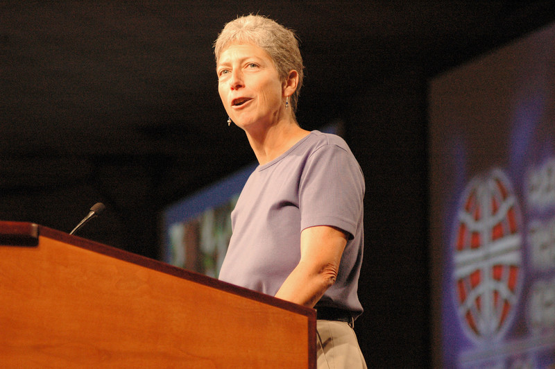 Kathryn Wolford, President, Lutheran World Relief, thanked the Assembly for the ELCA's partnership through the World Hunger Appeal.