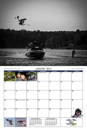 2014 Hydrofoil Calendar