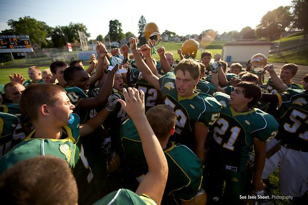 Sophomore: Hempstead Mustangs 13 - Cedar Falls 20