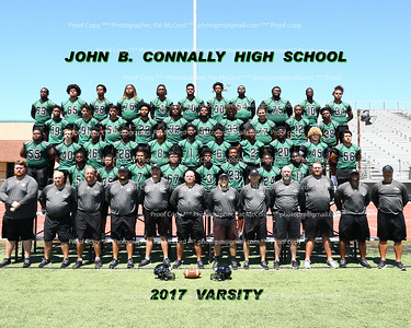 2017 Connally Cougars Fooball