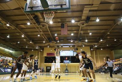 Men's Basketball vs Manhattan Christian